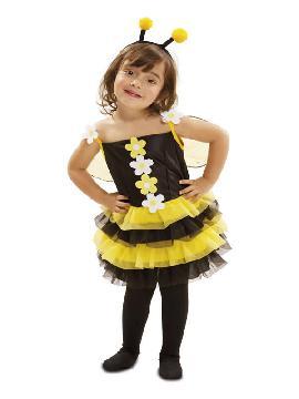 disfraz de pequeña abejita para niña