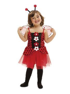 disfraz de pequeña mariquita para niña