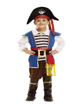 disfraz de pequeño bucanero niño