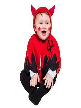 disfraz de pequeño demonio bebe