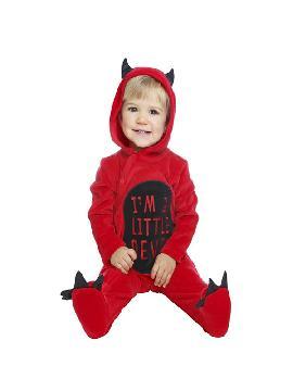 disfraz de pequeño diablillo para bebe