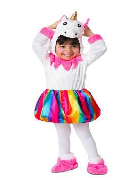 disfraz de pequeño unicornio para niña