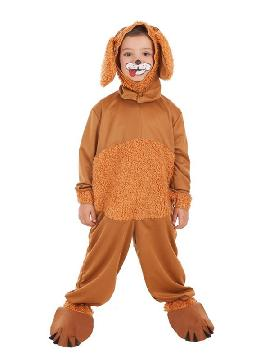 disfraz de perrito mimoso para niño