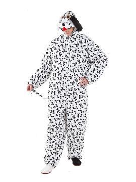 Este disfraz de perro dalmata es ideal para tus fiestas de animales, tanto para grupos grandes o pequeños. Es uno de los disfraces graciosos y más calentitos de la pelicula de los 101 dalmatas. Tanto para tus carnavales, fiestas temáticas, halloween, despedidas de solteros, etc.