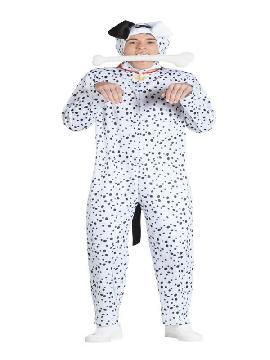 disfraz de perro dalmata para adulto