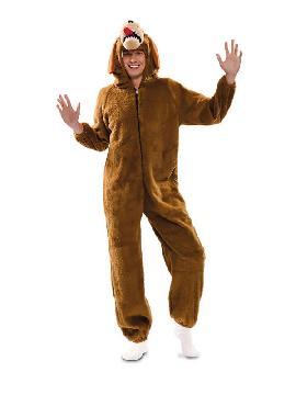 disfraz de perro marron para hombre