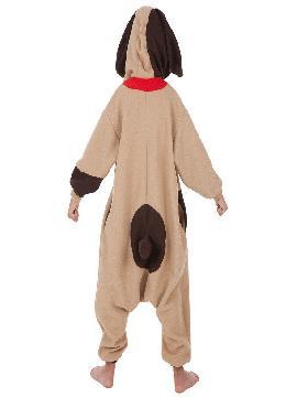 disfraz de perro marron para niños