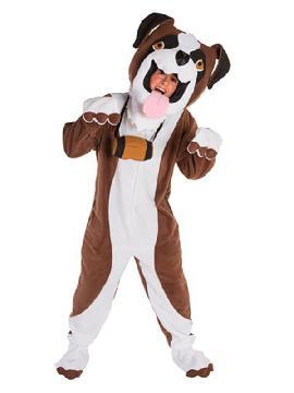 disfraz de perro san bernardo para adulto