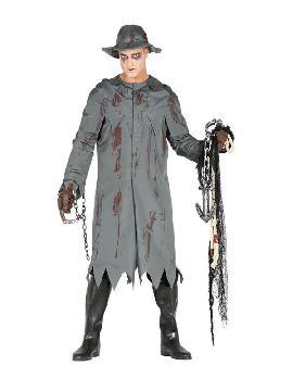 disfraz de pescador killer raincoat hombre