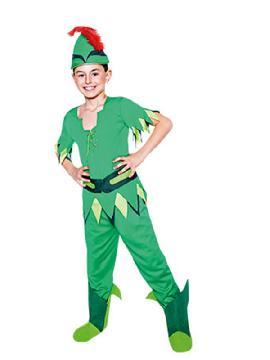 disfraz de peter pan niño infantil. Este comodísimo traje es perfecto para buscar a tu campanilla en carnaval, espectáculos, cumpleaños. Este disfraz es ideal para tus fiestas temáticas de disfraces de famosos y cuentos para niños infantiles