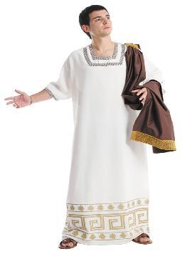 Disfraz de petror romano hombre. Sigue a tu emperador y defiende a Roma  en Carnaval, ferias históricas. Este disfraz es ideal para tus fiestas temáticas de disfraces romanos y egipcios adulto. fabricación nacional.