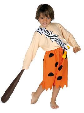 disfraz de picapiedra bam bam niño