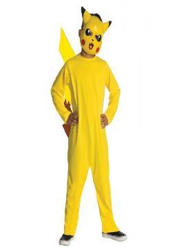 disfraz de pokemon pikachu para niño