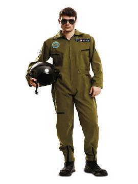 disfraz de piloto aviador top gun adulto