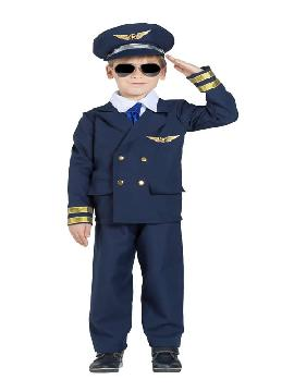 disfraz de piloto de avion niño