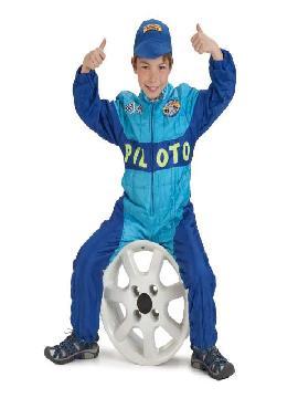 disfraz de piloto mecanico para niño infantil