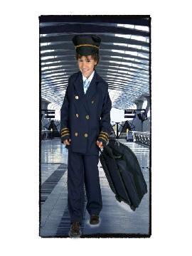disfraz de piloto de avion niños. Te convertirás en el rey del cielo.Este disfraz es ideal para tus fiestas temáticas de disfraces de pilotos y azafatas, uniformes de trabajo para niños infantiles.
