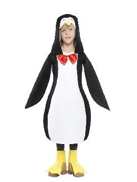 disfraz de pinguino barato niño. Los pequeños de la familia lo pasarán en grande con este traje de pinguino infantil,este divertido animal.Este disfraz es ideal para tus fiestas temáticas de disfraces de animales infantiles