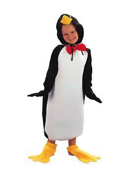 disfraz de pinguino divertido infantil