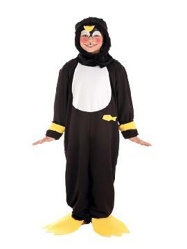 disfraz de pinguino mimoso para niño