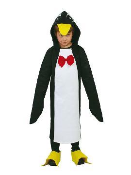 disfraz de pingüino para niño