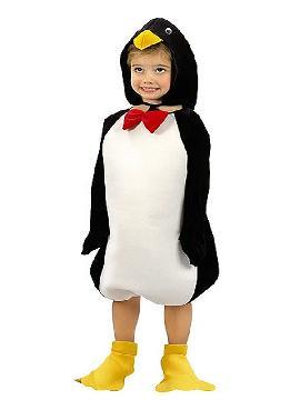 disfraz de pingüino polar niño