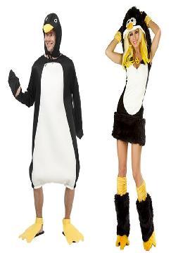 disfraz de pinguinos hombre y mujer adultos.Este cómico disfraces de pinguinos con pelo es perfecto para sorprender en tus Fiestas de Disfraces, Despedidas o Carnaval y mascota de animación.Este disfraz es ideal para tus fiestas temáticas de disfraces de animales para parejas y mujer y hombre.