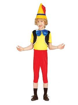 disfraz de pinocho marioneta niño