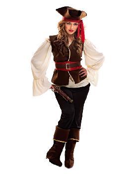 disfraz de pirata bucanera aventurera mujer