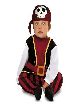 disfraz de pirata calavera para bebe