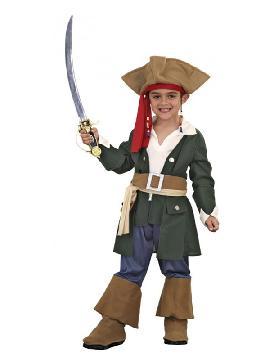 disfraz de pirata caribeño niño