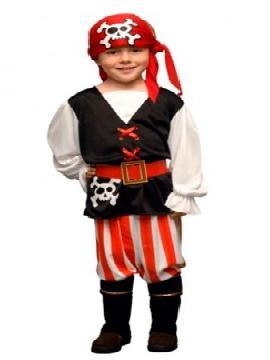 disfraz de pirata jack niño. Los más pequeños de la familia se convertirán en auténticos bucaneros y se divertirán viviendo mil aventuras con sus amigas en Fiestas de la Guardería. Este disfraz es ideal para tus fiestas temáticas de piratas y corsarios para infantil.