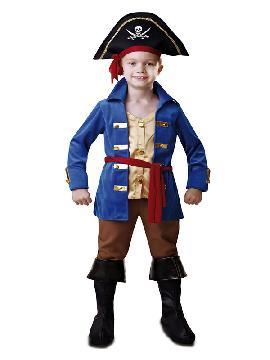 disfraz de pirata jake para niño