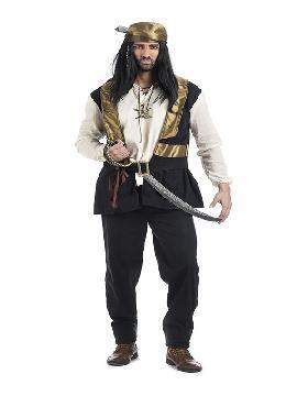 disfraz de pirata james hombre
