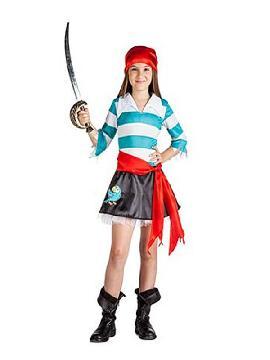 disfraz de pirata loro niña