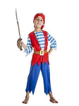 disfraz de pirata picos niño