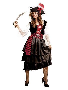 disfraz de pirata recatada para mujer