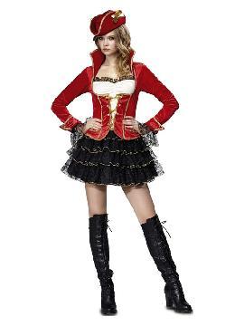 disfraz de pirata sofisticada para mujer