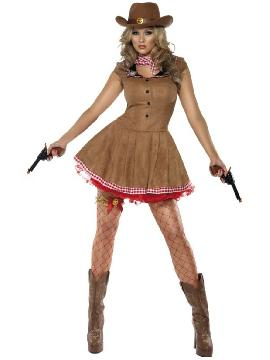 disfraz de pistolera sexy fever mujer