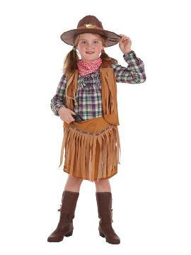 disfraz de pistolera para niña