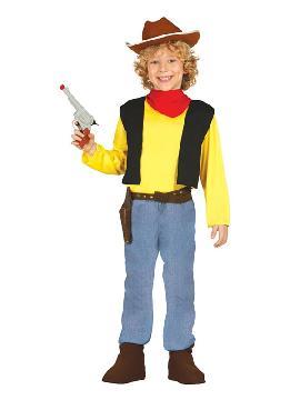 disfraz de pistolero buddy niño