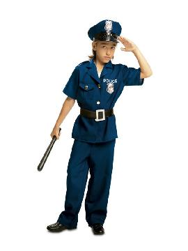 disfraz de policia barato para niño