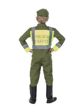 disfraz de policia de trafico para niño