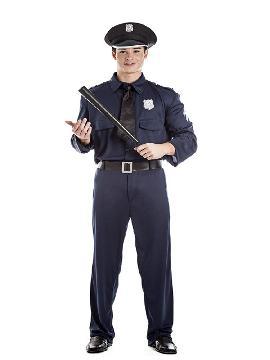 disfraz de policia hombre adulto te sentirás como un auténtico agente de seguridad. Este disfraz es ideal para tus fiestas temáticas de disfraces de uniformes de trabajo y deporte,policias,guardia civiles y presos.