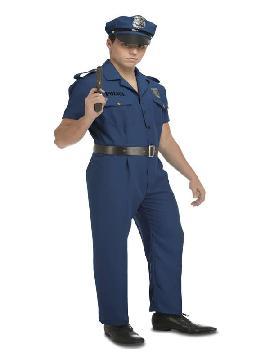 disfraz de policia local para hombre