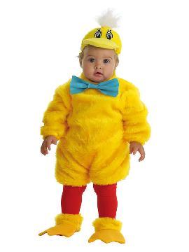disfraz de pollito amarillo para bebe