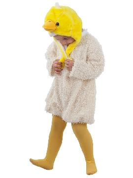 disfraz de pollito bebe. Tu niño se convertirá en el personaje  más adorable de la granja, en sus fiestas en la guarderia y tu seras las mamá gallina mas guapa. Este disfraz es ideal para tus fiestas temáticas de animales y gallo para infantil. fabricacion nacional