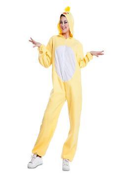 disfraz de pollito para adultos