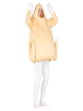 disfraz de pollo asado adulto