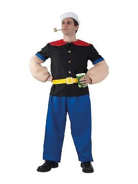 disfraz de popeye marino hombre